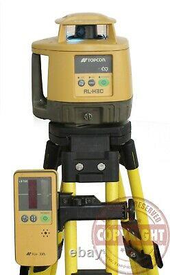 Topcon Rl-h3c Self-leveling Rotary Laser Level, Transit, Spectra