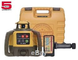 Topcon Rl-h5a Rechargeable Self-leveling Rotary Grade Laser Level, Slope, Rb