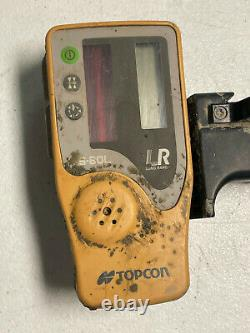 Topcon Rl-h5a Self-leveling Rotary Laser + Ls-80l Receiver Used Condition