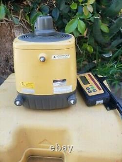 Topcon Rl-vh3d Self Leveling Rotary Laser