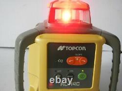 USED Topcon RL-H4C Self Leveling rotary laser level