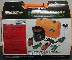 (102862) Johnson Auto Niveler Kit Laser Rotatif 40-6543 Nouveau Dans La Boîte