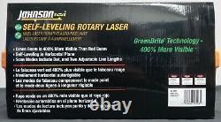 (105091) Laser Rotatif D'auto-niveautage Johnson 40-6543 Nouveau Cas