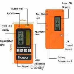 12lines Auto-nivelage Rotaire Niveau Laser De Ligne Transversale Avec Trépied Et Kit Récepteur