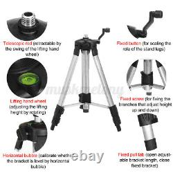 16 Lignes 4d 360° Rotary Laser Level Cross Green Self Leveling Measure With Tripod