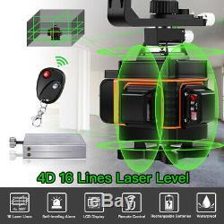 16 Lignes Rotary 360 ° Laser Niveau Autolissant Vertical Mesure Croix