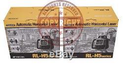 2 Nouveau-topcon H5a Rl Autonivelant Rotatif Niveau Laser, Pente, Transit
