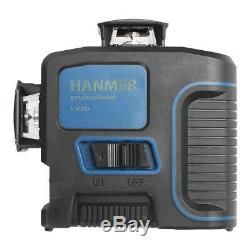 360 ° Rotary Laser 12line 3d Laser Niveau Autolissants Cross-line Laser Withcharger