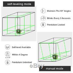3d Cross Ligne Verte De Niveau Laser Rotatif Cross Laser Line Autolissant 603cg 40m