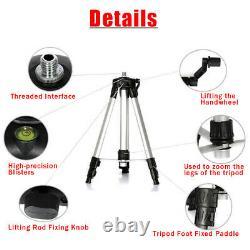 4d 16 Ligne Laser Level Auto Self Leveling 360° Rotary Measure + 59 Tripod Tool