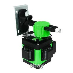 4d 16 Lignes Green Laser Level Auto Self Leveling 360 Rotary Cross Measurement Tool