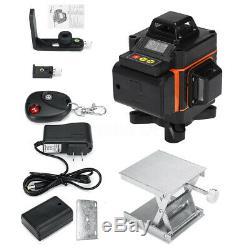 4d 16 Lignes Green Light Laser Niveau 360 ° Rotary Auto Autolissant Mesure