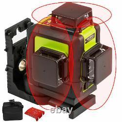 500m Auto-nivellement Rotary Grade Laser Level Rouge/vert Trépied &16' Rod Facultatif