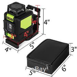 500m Autolissants Rotary Niveau Laser Niveau Rouge / Vert Trépied Et 16' Rod En Option