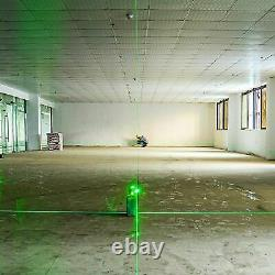Accueil Laser Rotatif 3d Green Cross Line Laser Self Leveling Diy Layout Tool