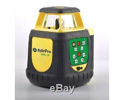 Adirpro Hv8gl Batteries Rechargeables Faisceau Vert Autolissant Niveau Laser Rotatif