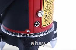 Auto Nivellement 4v1h Plumb Dot Cross Rotary Laser Level Trépied Détecteur Récepteur