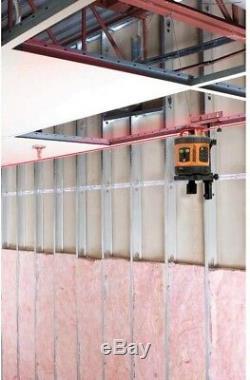 Auto-leveling Niveau Laser Rotatif Détecteur De Grade Tige Horizontale Verticale Extérieure