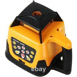 Automatique 360 Auto-niveau Red Beam Rotary Level +1.65m Tripod Staff
