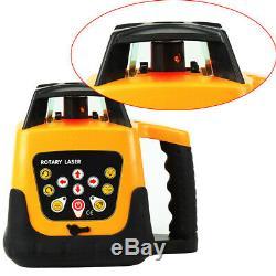 Automatique 500m Autonivelant Faisceau Rouge 360 niveau Laser Rotatif Kit + Trépied, Personnel