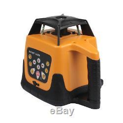 Automatique Autolissants Rotary Rotating Laser Rouge Kit De Niveau De Ridgeyard
