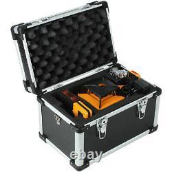 Automatique De Nivellement 500m Red Beam 360 Rotary Laser Level Kit Avec Le Personnel De Trépied