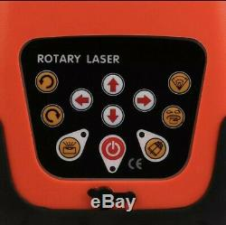 Autonivelant Rotatif Laser Rouge Kit Niveau 150 Mètres De Distance Au Royaume-uni Stock