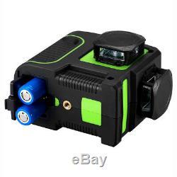 Autonivellantes Vert Niveau Laser Rotatif 12 Lignes 3d Cross Laser Line Outil Mesure