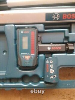 Bosch 1000-ft Faisceau Rouge Auto-nivellement Rotary 360 Niveau Laser Niveau