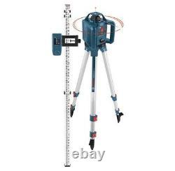 Bosch 800 Ft. Kit De Niveau Laser Rotatif Auto-nivellement Avec Boîtier De Transport Grl240hvck