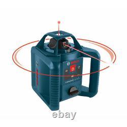 Bosch Auto-nivellement Nimh Rotary Laser Kit Grl245hvck-rt Certifié Remis À Neuf