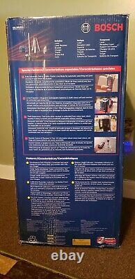 Bosch Auto-nivellement Rotary Laser Kit Grl500hck Flambant Neuf! Jamais Utilisé