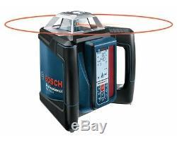 Bosch Autolissants Pente Laser Rotatif Horizontal Complet Grl500hck Kit
