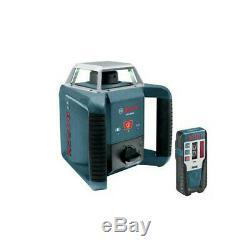 Bosch Autonivelant Extérieur Laser Rotatif Avec Récepteur Laser Grl400hrt Recon