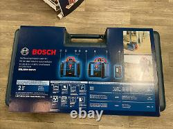 Bosch Grl1000-20hvk 1000 Pieds Red Beam Auto-nivellement Rotary 360 Laser Level Kit