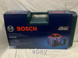 Bosch Grl1000-20hvk Auto Nivellement 1000ft Rotary Laser Kit Manquant Récepteur #a192