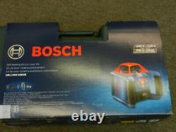Bosch Grl1000-20hvk Automatic Self-leveling Rotary Laser Kit, Horizl & Vert Nouveau
