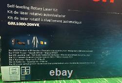 Bosch Grl1000-20hvk Système Laser Rotatif Auto-nivelé, Nib