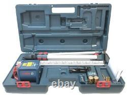 Bosch Grl1000-20hvk-rt Kit À Laser Rotatif À Nivellement Automatique Avec Trépied/rode/big Case