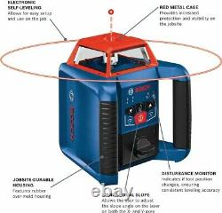 Bosch Grl2000-40hvk Auto Nivellement Rotary Laser Kit