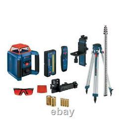 Bosch Grl2000-40hvk Sans Fil Autolissant Horizontale / Verticale Laser Rotatif Kit