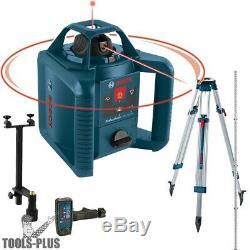 Bosch Grl245hvck 800' À Deux Axes Autolissants Reconditionnés Laser Rotatif