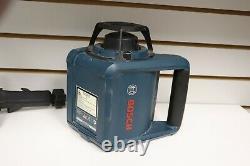 Bosch Grl250hv Autolissant Laser Rotatif Outil Avec Bosch Récepteur Laser Lr30