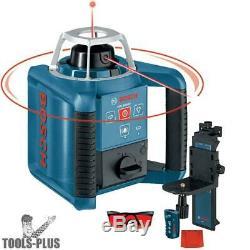 Bosch Grl300hv Autolissants Laser Rotatif Avec Mise En Page Du Faisceau Nouveau