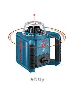 Bosch Grl300hv Niveau Laser Rotatif Avec Faisceau De Disposition Plomb Horizontal Et Vertical