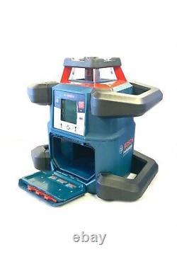 Bosch Grl4000-80chvk 18v Kit Laser Rotatif Horizontal/vertical Auto-nivelage