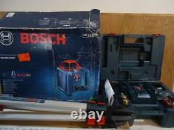 Bosch Grl80020hvk Auto Nivellement 800ft Rotary Laser Kit Nib