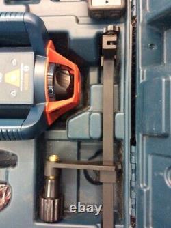 Bosch Grl800-20hv Auto Nivellement 800ft Rotary Laser Kit Avec Boîtier Dur (lin023161)