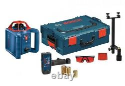 Bosch Grl800-20hv Auto Nivellement 800ft Rotary Laser Manufacturer Remis À Neuf