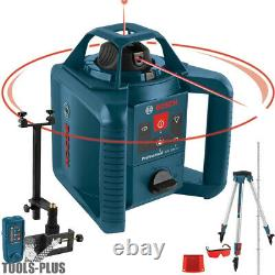 Bosch Grl800-20hvk 800 Pi. Autolissant Niveau Laser Rotatif Kit (recon)
